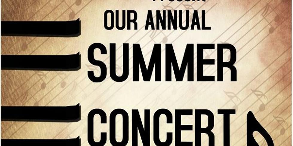 (late) Summer Concert 2021!