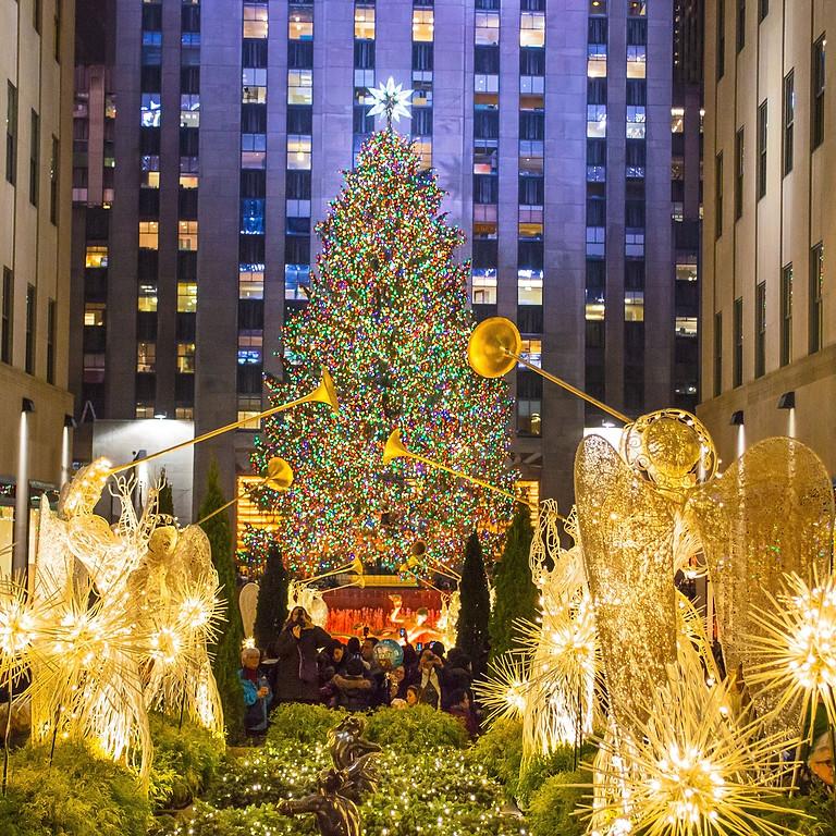 Festa da Inauguração da Iluminação da Árvore de Natal do Rockefeller Center