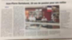 boucherie du Bel'os, article de presse,