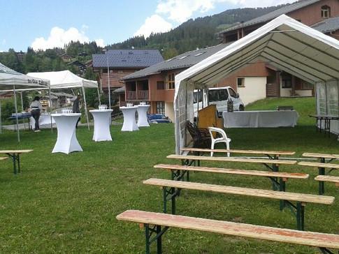 Mariage de Lucy & Cédric  Centre de Vacances « Les Flocons Verts », Les Carroz  Samedi 15 Juin 2