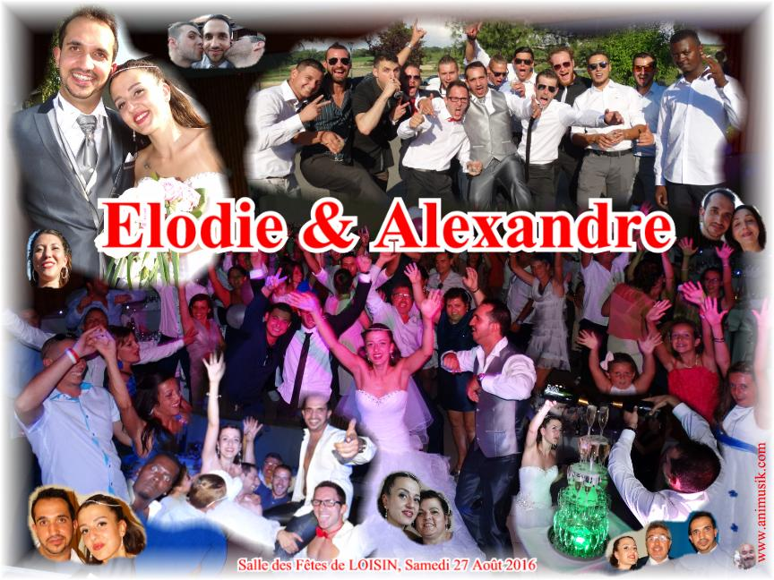 Mariage GINER Alexandre & Elodie (Loisin) (27-08-2016)