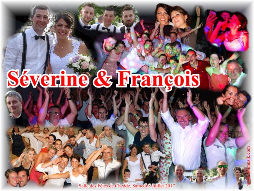 Mariage HUGE François & RAMELLA Séverine (Chedde) (08-07-2017)