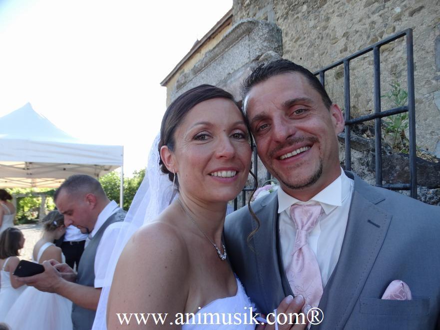 Mariage avec animusik au Château d'Avully le 30.06.2018