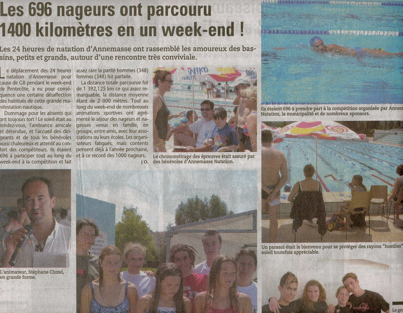 Article Messager 24 heures Natation Annemasse 2003.jpg