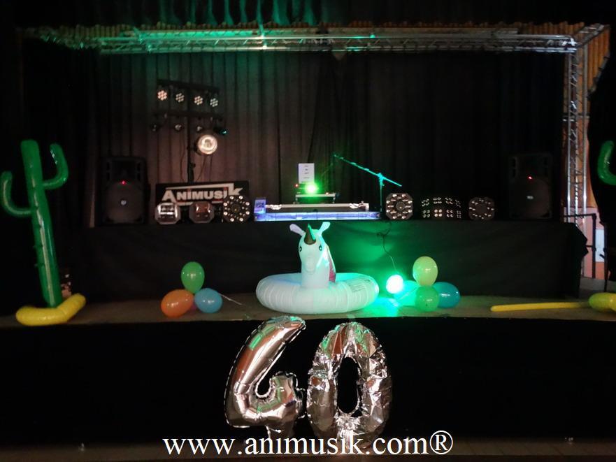 anniversaire avec animusik à Feigères oct. 2018