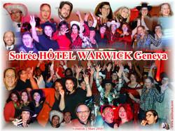 Soirée HOTEL WARWICK (02-03-2018)
