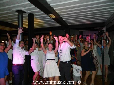"Mariage de Johanne & Yoann ""Chalet du Golf"" Evian Samedi 5 Août 2017 www.animusik.com"