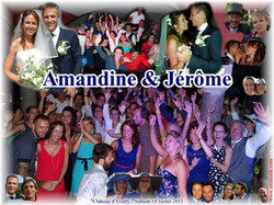 Mariage MICHAUD Jérôme & Amandine (Château d'Avully) (18-07-2015)