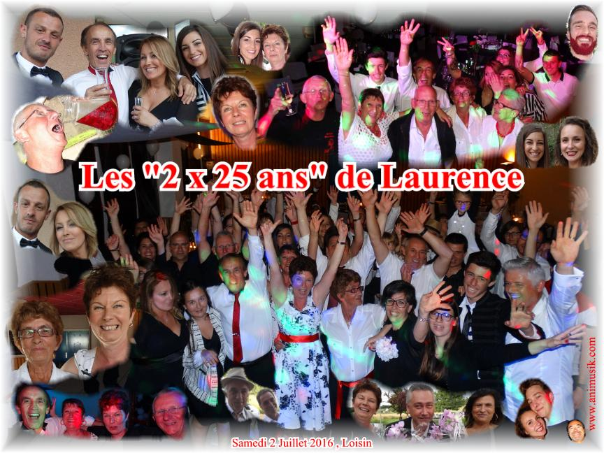 Anniversaire BOURGEOIS Laurence (50 ans) (Loisin) (02-07-2016)