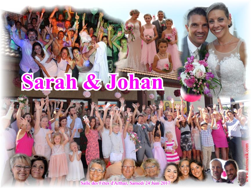 Mariage BERTOLINI Johan & XAMBEU Sarah (Arthaz) (24-06-2017)