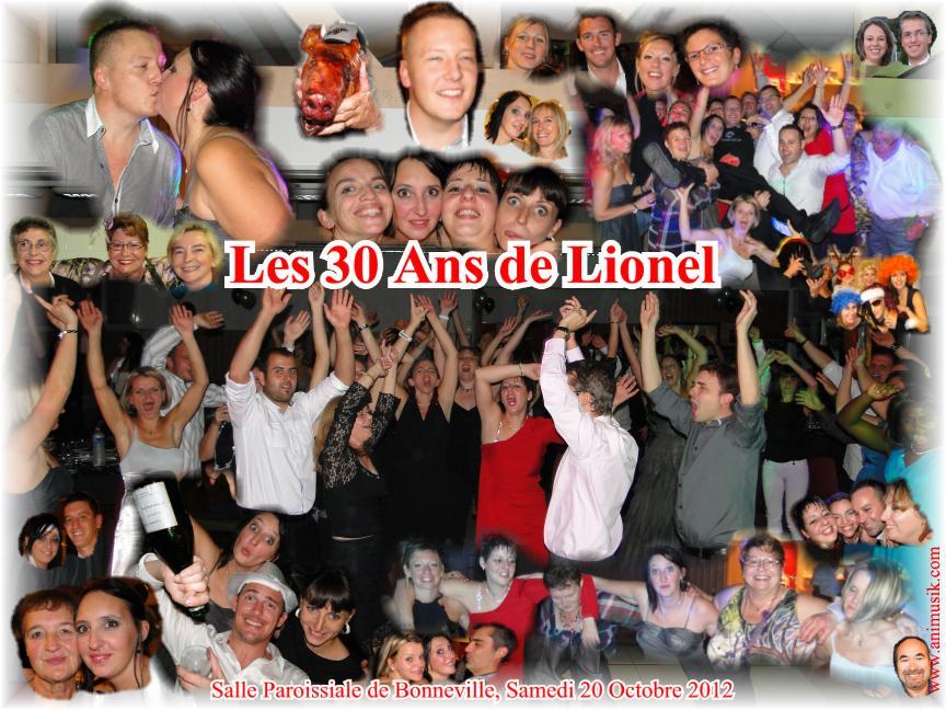 Anniversaire QUENIART Lionel (30 ans) (Salle Paroissiale Bonneville) (20-10-2012