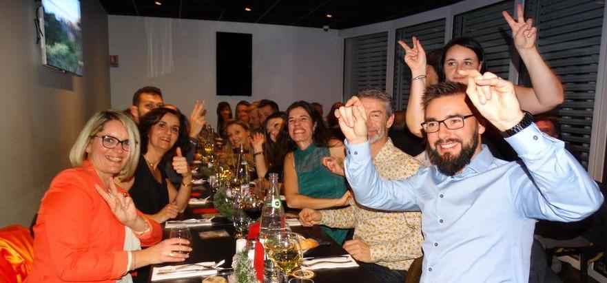 Soirée HAUTE-SAVOIE HABITAT  Restaurant « La Brasserie Gourmande », Juvigny  Vendredi 6 Décembre 201