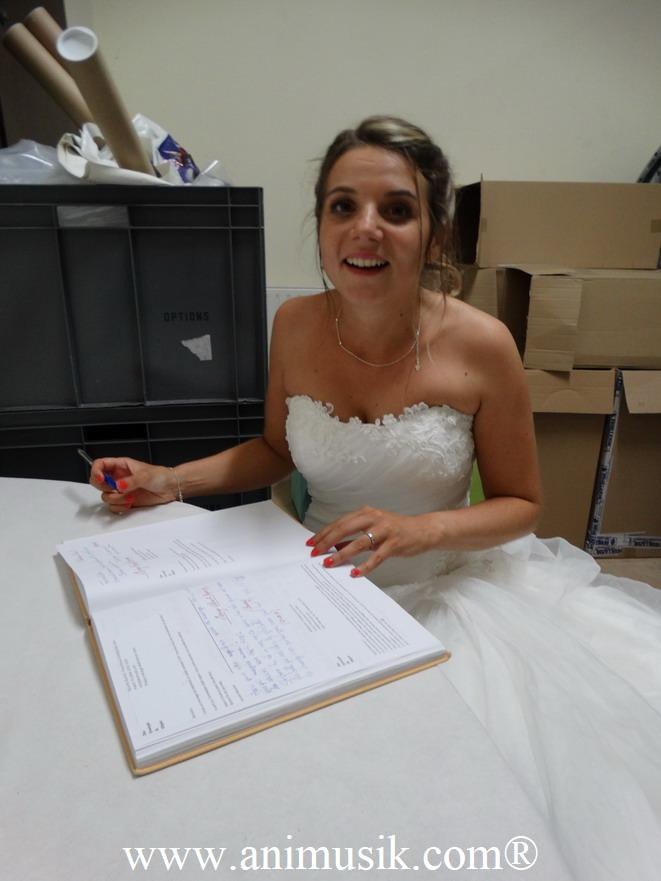 mariage animation Hermancia Léman au 15 Sept. 2018
