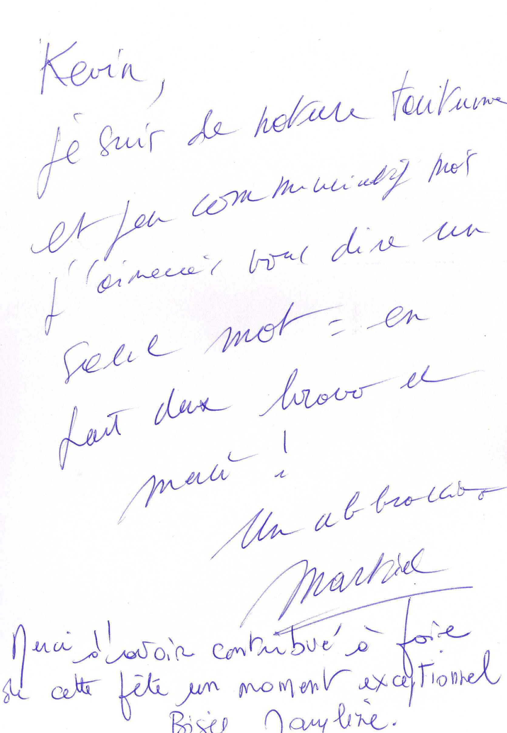 Les 60 ans de Martial VIONNET aux TRESOMS d' ANNECY Samedi 16 Janvier 2016 2