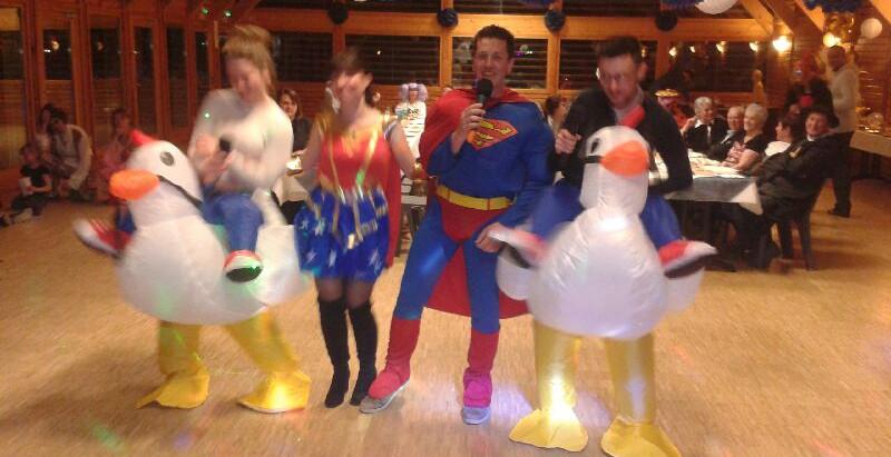 Les 30 Ans « Surprise » de Julien !  Salle des Fêtes de MIEUSSY  Samedi 29-02-2020  Vive Superman !