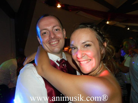 Mariage Aurore & Tony  Samedi 4 août 2018  Salle TILLIER à Cruseilles  www.animusik.com  www.ani