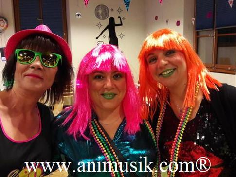 Les « 60 Printemps » de Joachim Thônex Samedi 07-10-2017 Disco Party !! www.animusik.com