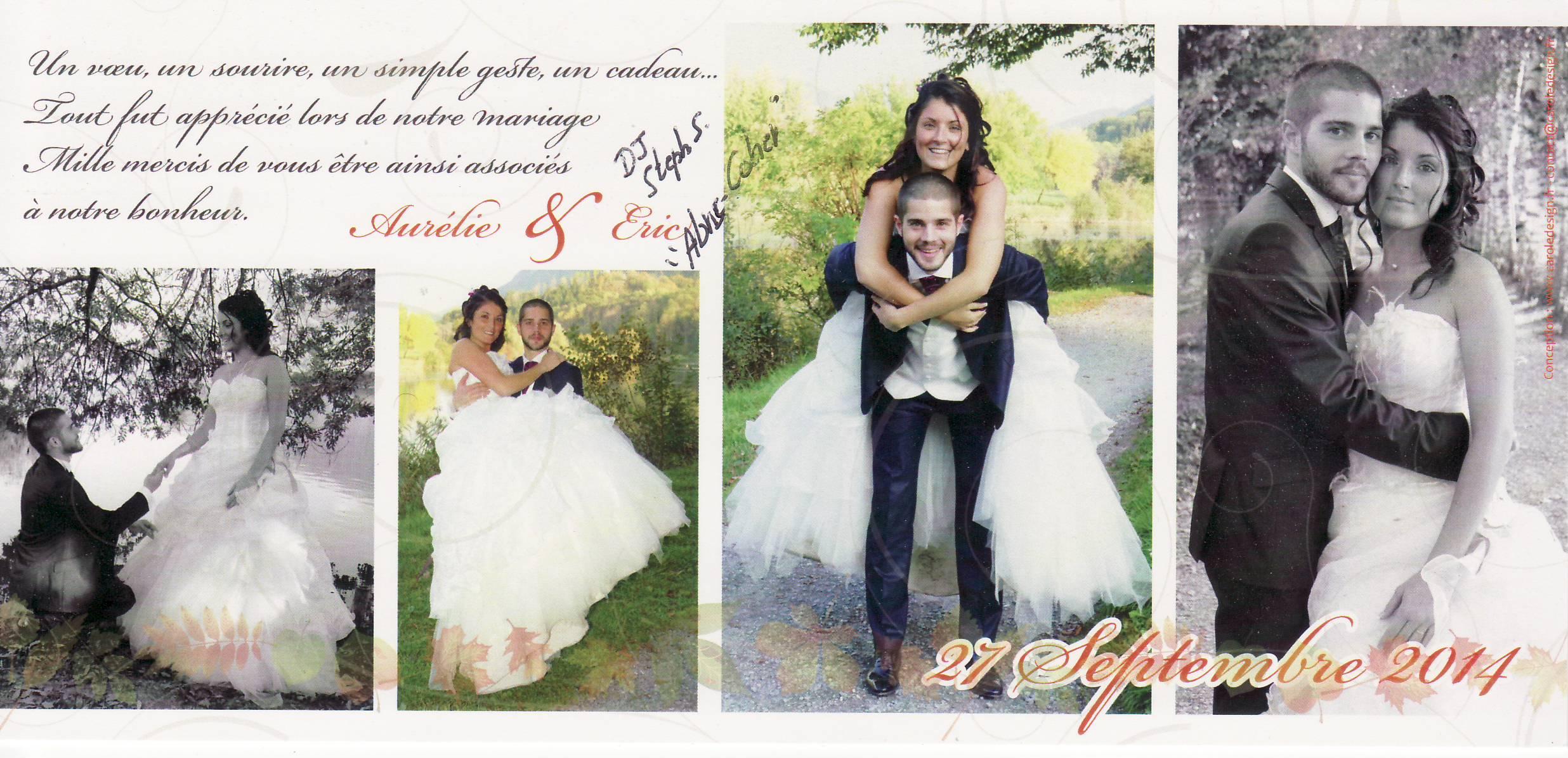 Mariage CHATEL Eric & Aurélie (Abris-Côtier) (27-09-2014).JPG