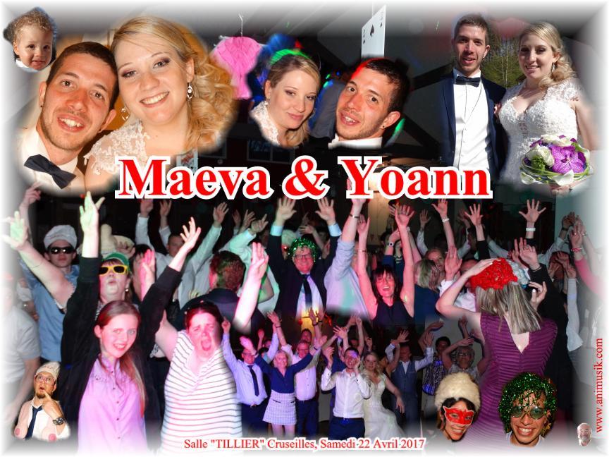 Mariage DUPONT Yoann & CHASSOT Maeva (Salle Tillier Cruseilles) (22-04-2017)