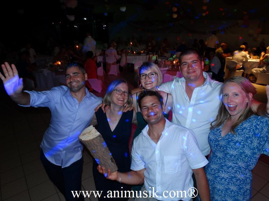 mariage à Douvaine avec Animusik juillet 2019