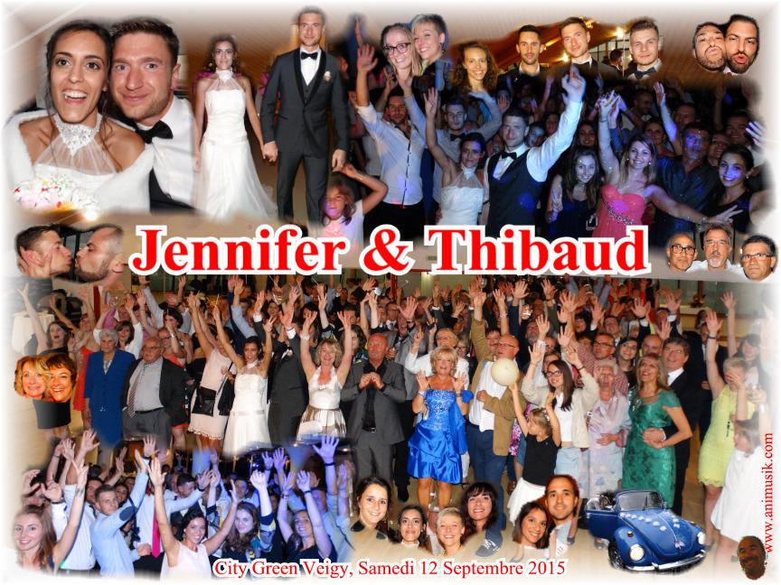Mariage CHEVALLIER Thibaud & Jennifer (City Green Veigy) (12-09-2015)