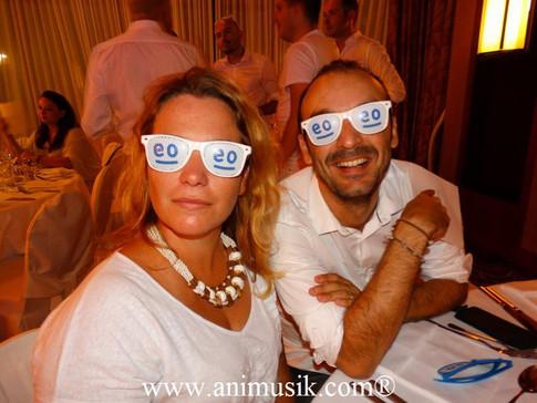 « White Party » au « Domaine de Divonne » DJ, Pianiste et Magicien ! Vendredi 26-08-2016
