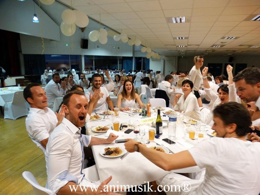 soirée d'entreprise du Crédit Agricole avec Animusik à Viuz-en Sallaz