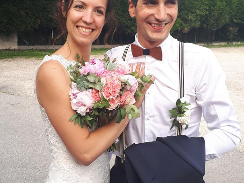 Mariage de Céline & Samuel Salle des Fêtes de Poisy Samedi 26 mai 2018 www.animusik.com www.anim