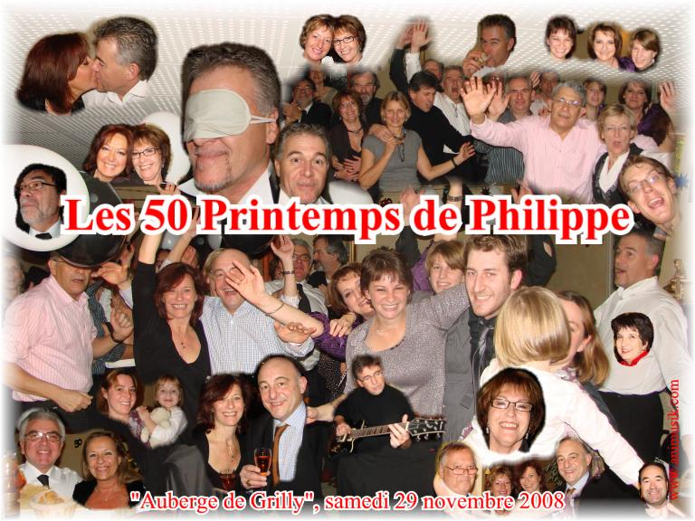 Anniversaire Philippe (50 ans) (Auberge de Grilly) (29-11-2008).jpg
