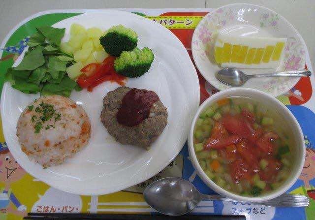 楽しくつくろう!夏のお昼ごはん(2)