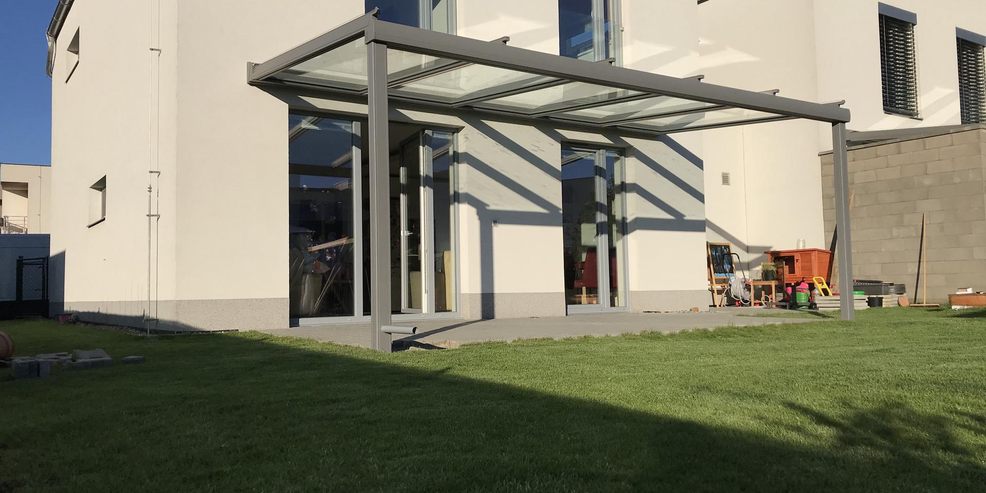 Hliníková pergola Murano integrále
