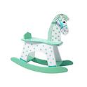 Green Rocking Horse