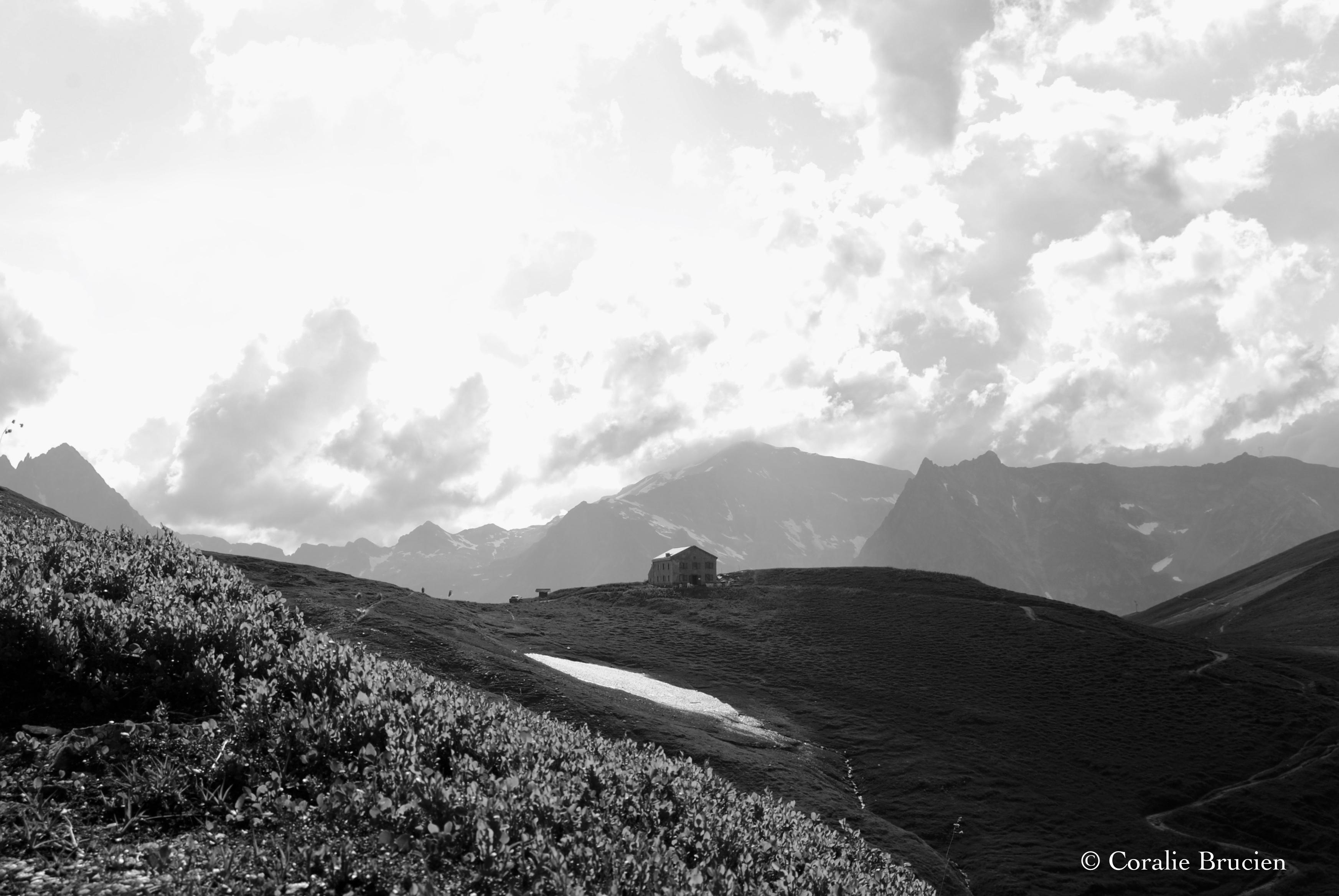 Le Col de Balme et son refuge