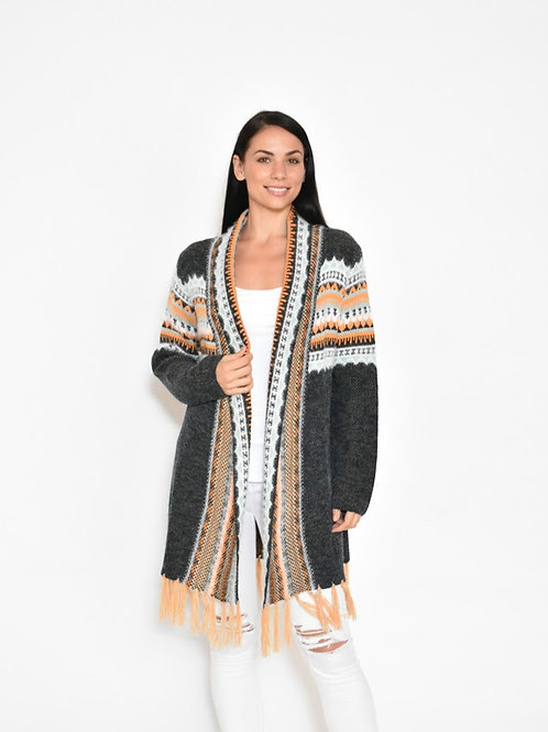 Cardigan Mexican Black
