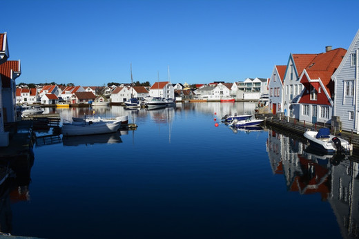 Small fishing villages