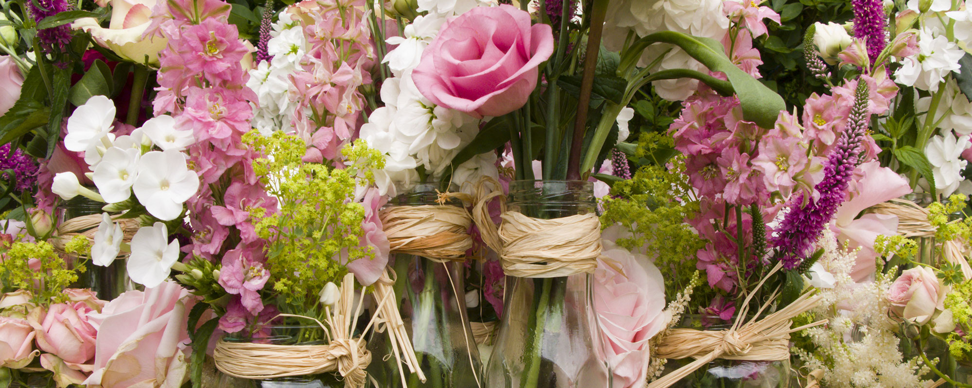 The Floral Artisan Flower Jars