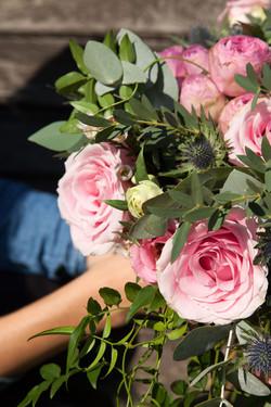 Hand-tied Wedding Bouquet