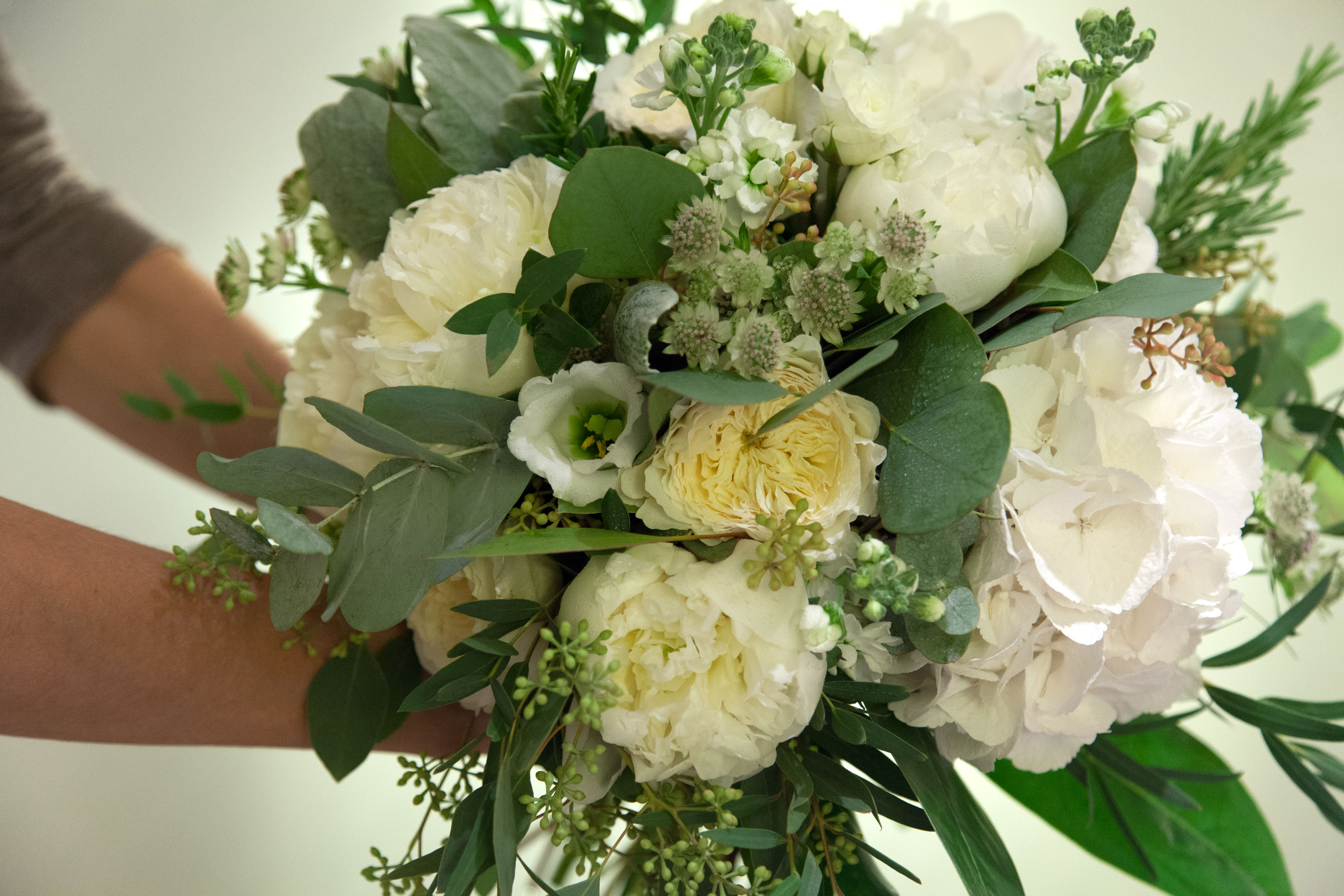Wedding Bouquet Hand-Tied