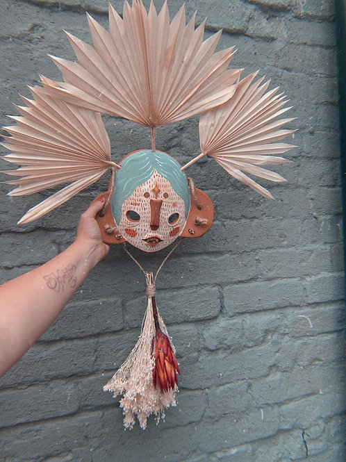 In Perseverance Broom Mask