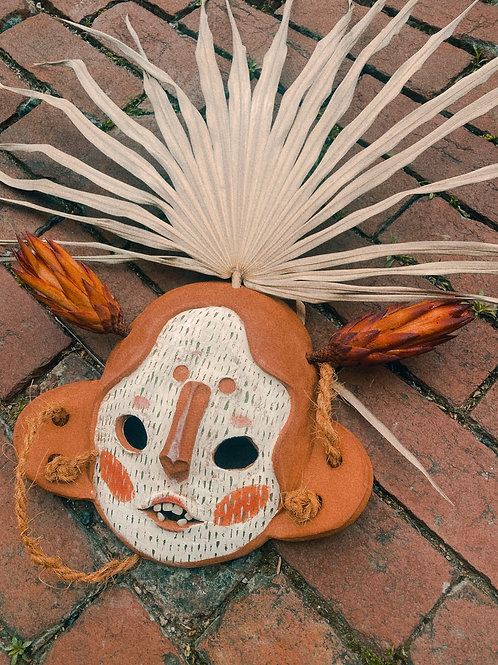 Softly Protea Mask
