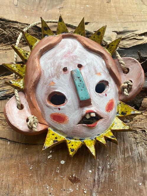 Sun Clown Mini Mask