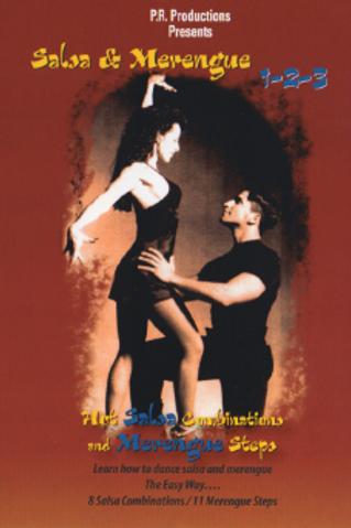 Salsa & Merengue 1-2-3 DVD - Learn how to dance salsa & merengue / Aprenda a bai