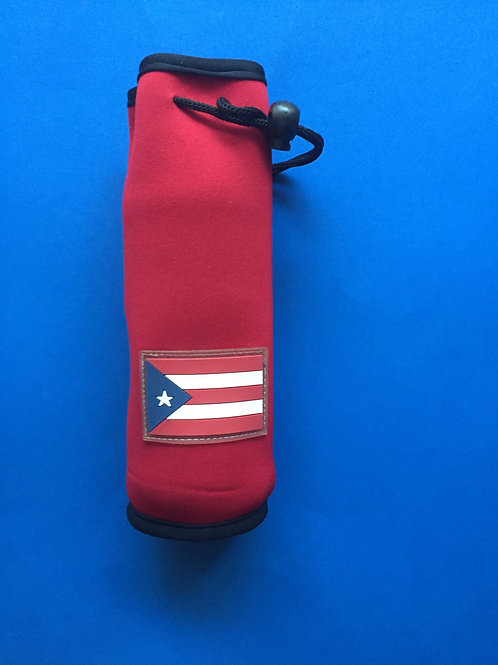 Water Bottle Holder - Portabotella - Puerto Rico Flag (Bandera)