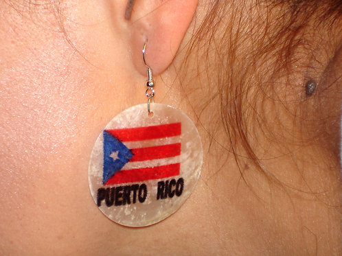 Ear Ring - Puerto Rico - Arete