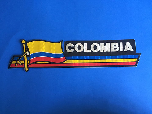 Bumber Sticker - Colombia