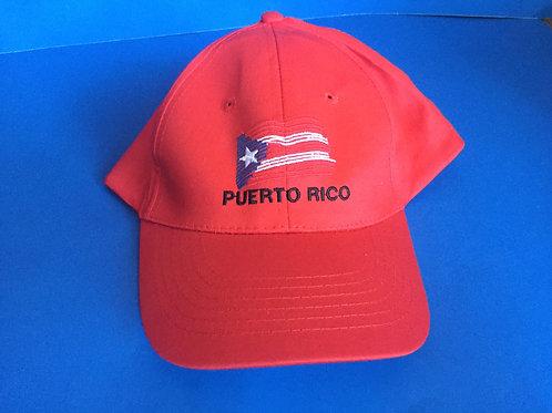 Cap / Gorra (Puerto Rico - with flag-con bandera)