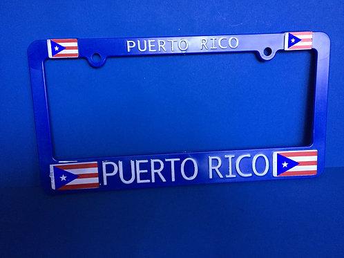 License Plate Puerto Rico