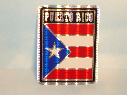 Puerto Rico Flag (Bandera) - Sticker