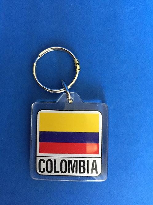 Key Chain - Llavero / Colombia