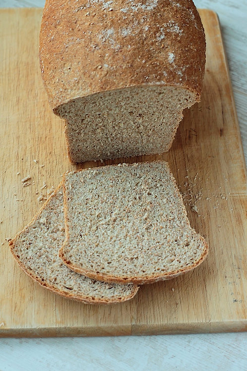 Wholemeal Tin Loaf - Thick Cut